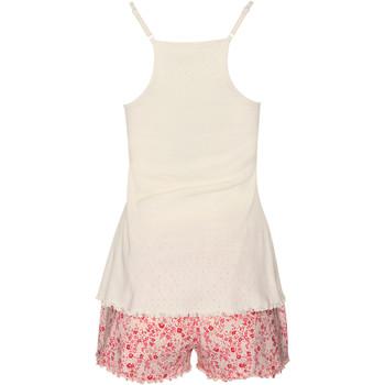 textil Mujer Pijama Lisca Camiseta de tirantes Limitless Pantalones cortos pijama Rosa Pálido