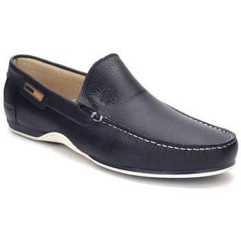 Zapatos Hombre Mocasín Comodo Sport Mocasines XL de hombre de piel by Cómodo Sport Bleu