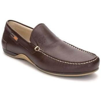Zapatos Hombre Mocasín Comodo Sport Mocasines XL de hombre de piel by Cómodo Sport Marron