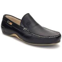 Zapatos Hombre Mocasín Comodo Sport Mocasines XL de hombre de piel by Cómodo Sport Noir