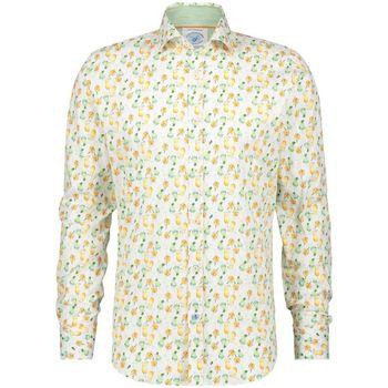 textil Hombre Camisas manga larga A Fish Named Fred peces sombra 1