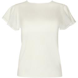 textil Mujer Tops / Blusas Lisca Camiseta manga corta Limitless  Cheek Amarillo