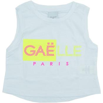textil Niña Camisetas sin mangas GaËlle Paris - T-shirt bianco 2746M0333 BIANCO