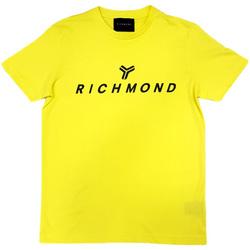 textil Hombre Camisetas manga corta John Richmond - T-shirt giallo UMP21004TS GIALLO