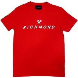 textil Hombre Camisetas manga corta John Richmond - T-shirt rosso UMP21004TS ROSSO