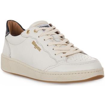 Zapatos Mujer Zapatillas bajas Blauer WHI OLYMPIA Bianco