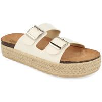 Zapatos Mujer Zuecos (Mules) Benini 21301 Blanco