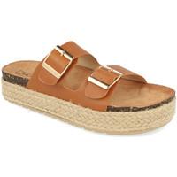 Zapatos Mujer Zuecos (Mules) Benini 21301 Camel