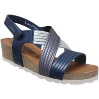 Zapatos Mujer Sandalias Mephisto Renza Cuero azul
