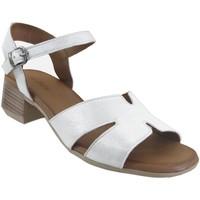 Zapatos Mujer Sandalias K.mary Jade Cuero gris metal