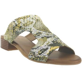 Zapatos Mujer Zuecos (Mules) K.mary Kir Cuero amarillo