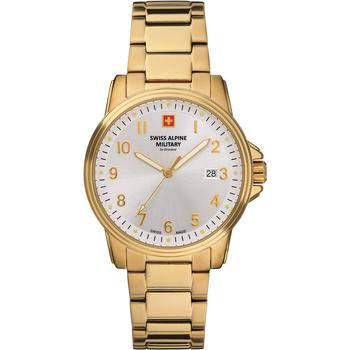 Relojes & Joyas Hombre Relojes analógicos Swiss Alpine Military 7011.1112, Quartz, 40mm, 10ATM Oro