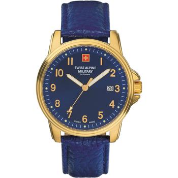 Relojes & Joyas Hombre Relojes analógicos Swiss Alpine Military 7011.1515, Quartz, 40mm, 10ATM Oro