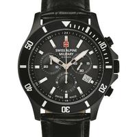 Relojes & Joyas Hombre Relojes analógicos Swiss Alpine Military 7022.9577, Quartz, 42mm, 10ATM Negro