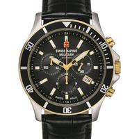 Relojes & Joyas Hombre Relojes analógicos Swiss Alpine Military 7022.9547, Quartz, 42mm, 10ATM Plata
