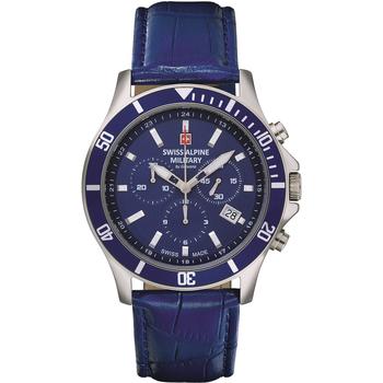 Relojes & Joyas Hombre Relojes analógicos Swiss Alpine Military 7022.9535, Quartz, 42mm, 10ATM Plata