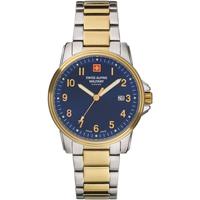 Relojes & Joyas Hombre Relojes analógicos Swiss Alpine Military 7011.1145, Quartz, 40mm, 10ATM Plata
