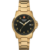 Relojes & Joyas Hombre Relojes analógicos Swiss Alpine Military 7011.1117, Quartz, 40mm, 10ATM Oro