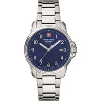 Relojes & Joyas Hombre Relojes analógicos Swiss Alpine Military 7011.1135, Quartz, 40mm, 10ATM Plata