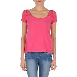 textil Mujer camisetas manga corta DDP NOWI Rosa