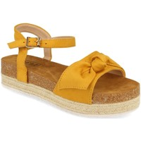Zapatos Mujer Sandalias Benini 20336 Amarillo
