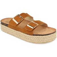 Zapatos Mujer Zuecos (Mules) Benini 21302 Camel