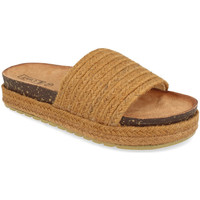 Zapatos Mujer Zuecos (Mules) Silvian Heach L-19 Camel