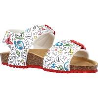 Zapatos Niño Sandalias Garvalin 212661 Blanco