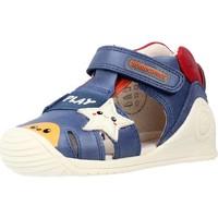Zapatos Niño Sandalias Biomecanics 212140 Azul