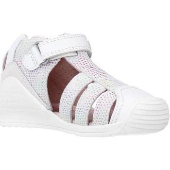 Zapatos Niña Sandalias Biomecanics 212116 Blanco