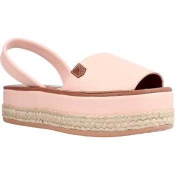 Zapatos Mujer Sandalias Menorquinas Popa PS11702 Rosa