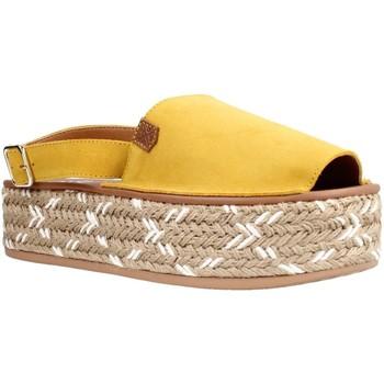 Zapatos Mujer Sandalias Menorquinas Popa PS12603 Amarillo