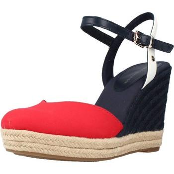 Zapatos Mujer Sandalias Tommy Hilfiger BASIC CLOSED TOE HIGH WE Rojo