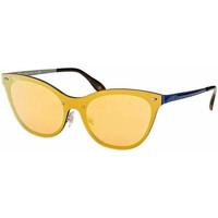 Relojes & Joyas Mujer Gafas de sol Ray-ban Gafas  Blaze Cat Eye Azul
