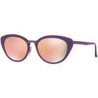 Relojes & Joyas Mujer Gafas de sol Ray-ban Gafas  Lightray Violeta