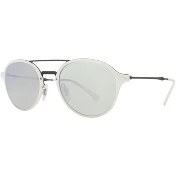 Relojes & Joyas Gafas de sol Ray-ban Gafas  Injected Blanco