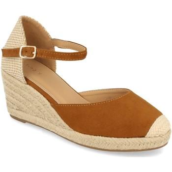 Zapatos Mujer Alpargatas Benini 20317 Camel
