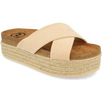 Zapatos Mujer Zuecos (Mules) Woman Key MT-53 Beige