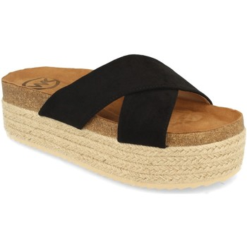 Zapatos Mujer Zuecos (Mules) Woman Key MT-53 Negro