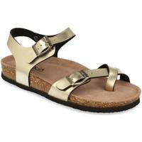 Zapatos Mujer Sandalias Woman Key D18-19 Oro