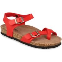 Zapatos Mujer Sandalias Woman Key D18-19 Rojo