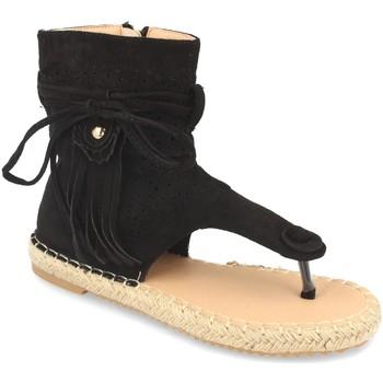 Zapatos Mujer Sandalias Woman Key MT-58 Negro