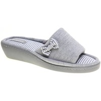 Zapatos Mujer Pantuflas Isotoner 93723.05 ISO GRIS