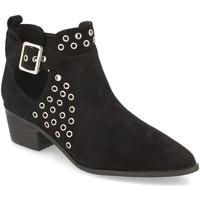 Zapatos Mujer Botines Buonarotti 1A-1033 Negro