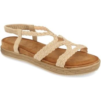 Zapatos Mujer Sandalias Buonarotti 1AF-1207 Beige