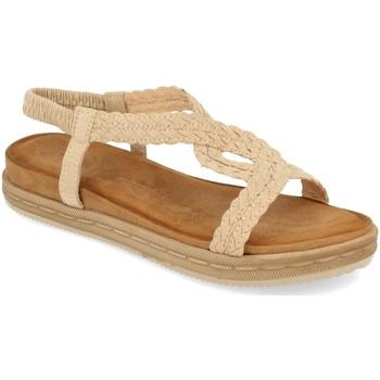 Zapatos Mujer Sandalias Buonarotti 1AF-1208 Beige