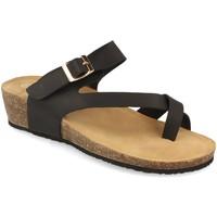Zapatos Mujer Sandalias Woman Key R9002 Negro