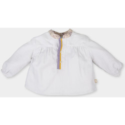 textil Niña Tops / Blusas Tutto Piccolo Blusa m/larga Beige