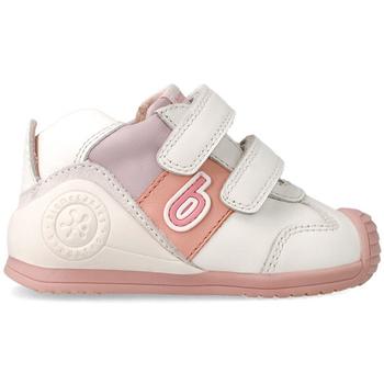 Zapatos Niña Botines Biomecanics 212124B ZAPATILLAS MALVA Blanco