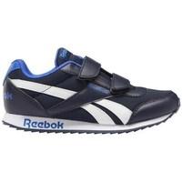 Zapatos Niños Zapatillas bajas Reebok Sport Royal CL Jogger Blanco, Negros